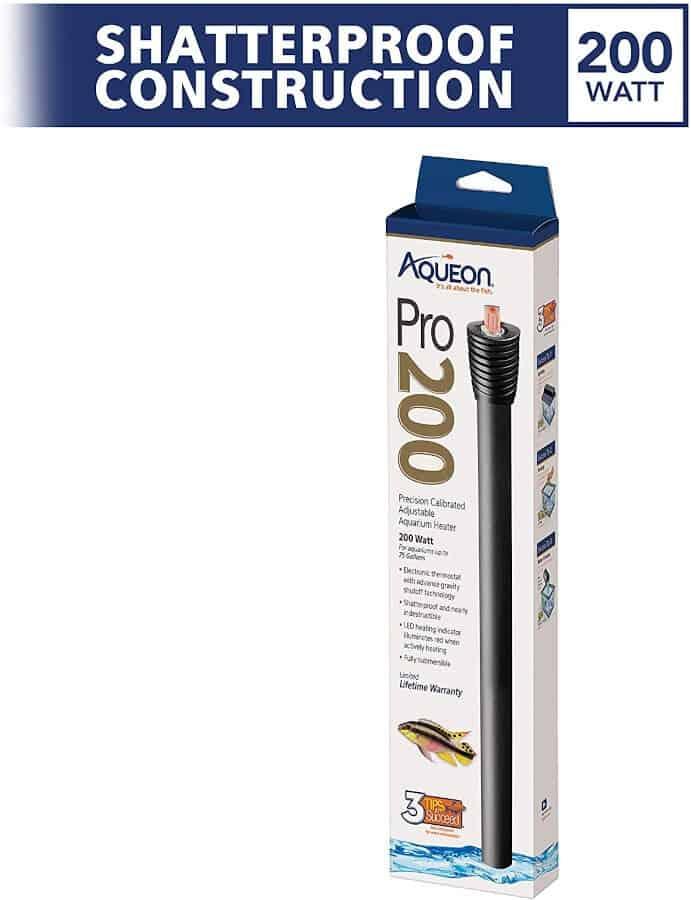 Aqueon Pro Adjustable Aquarium Heater