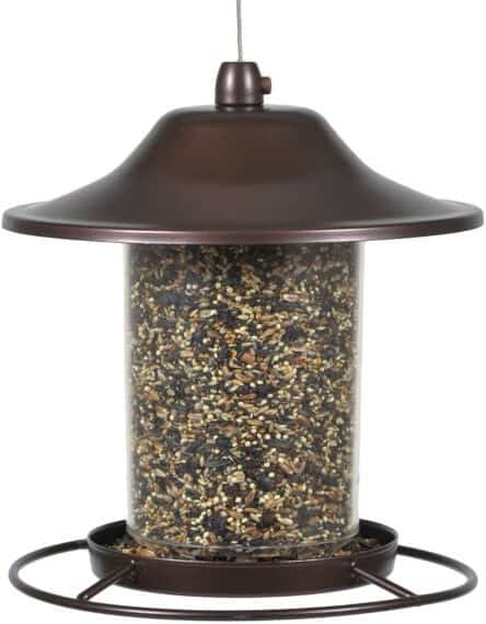 Perky-Pet 312 Panorama Squirrel Proof Bird Feeder