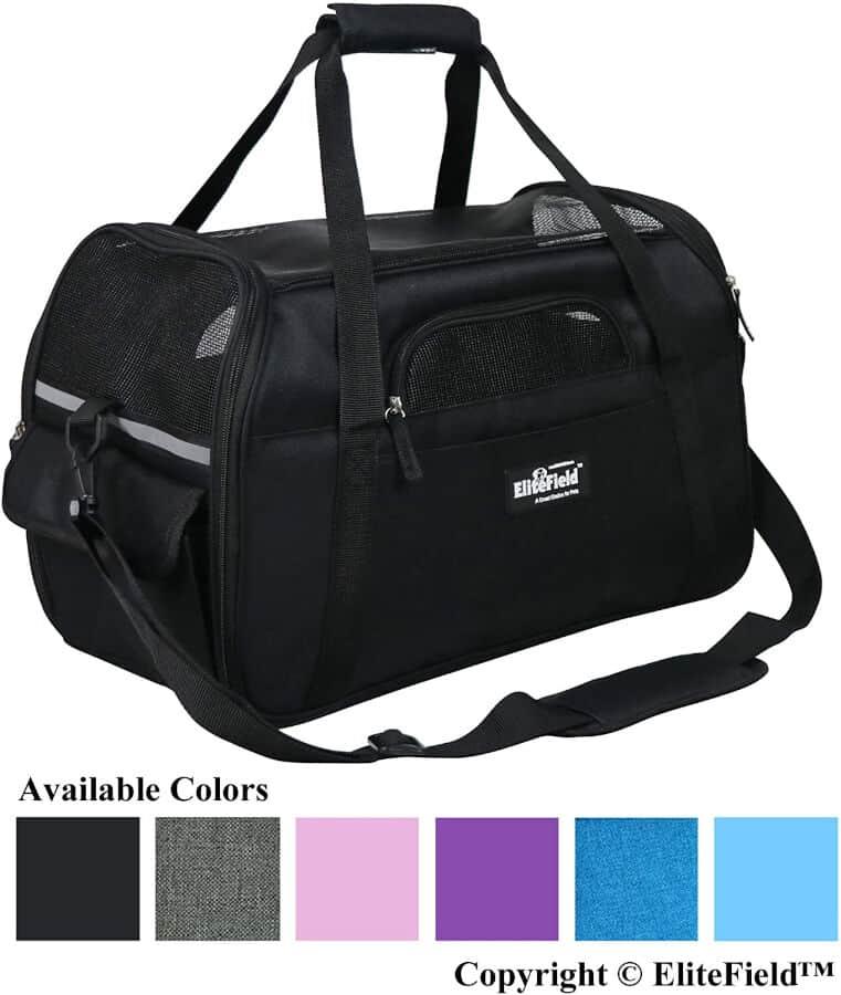 Elite Soft Sided Airline Approved Cat Carrier Bag