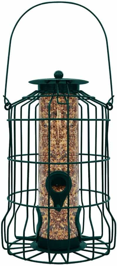 Gray Bunny GB 6860 Caged Tube Anti Squirrel Bird Feeder