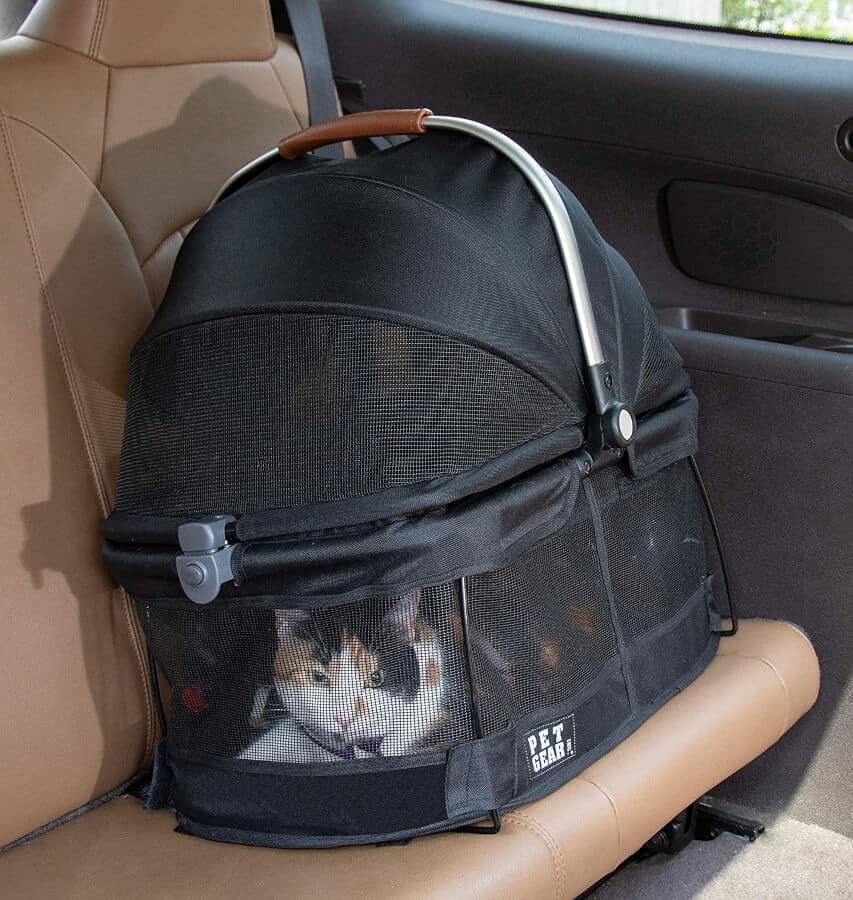 Pet Gear 360° View Cat Carrier & Car Seat
