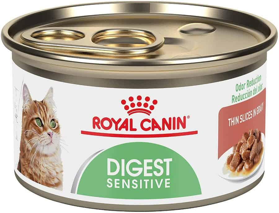 Royal Canin Digest Sensitive Thin Slices in Gravy Canned Cat Food