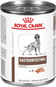 Royal Canin Veterinary Diet Gastrointestinal Low Fat Canned sensitive Dog Food