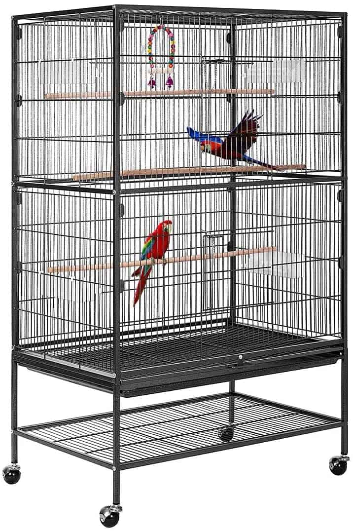 VIVOHOME Wrought Iron Bird Cages